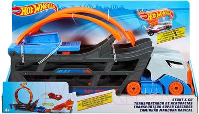 Автомобиль игрушечный Mattel Трюковой тягач / GCK38