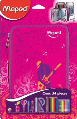 Пенал Maped Girly / 967431