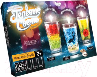 Набор для изготовления свечей Danko Toys Гелевая свеча / GS-02-01