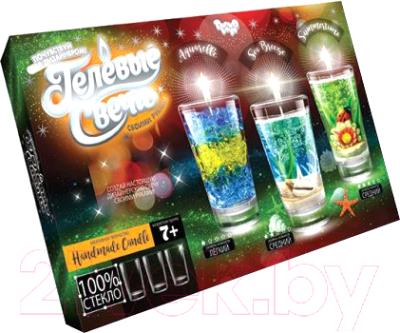 Набор для изготовления свечей Danko Toys Гелевая свеча / GS-02-02