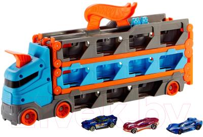 Автовоз игрушечный Hot Wheels Грузовик. Скоростная автотрасса / GVG37