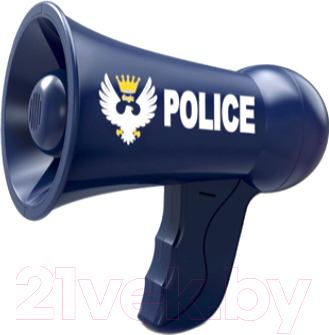 Рупор игрушечный Qunxing Toys Полицейский патруль / HSY-089