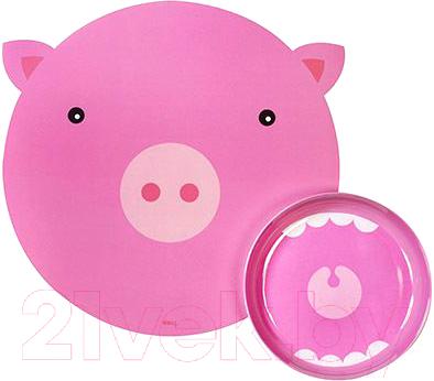 Набор детской посуды Doiy Hungry Pig / DYHUNMAPI