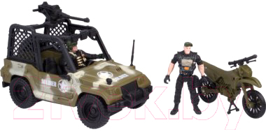 Автомобиль игрушечный Huada Военный патруль / HWA1290710