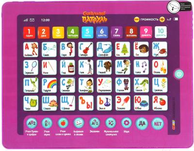 Развивающая игра Умка Сенсорный планшет. Сказочный патруль Азбука и счет / HX82015-R12
