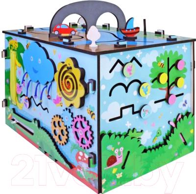 Развивающая игрушка Мастер игрушек Бизиборд. Вокруг света / IG0251