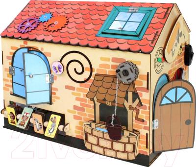 Развивающая игрушка Мастер игрушек Бизиборд. Чудо-дом / IG0252