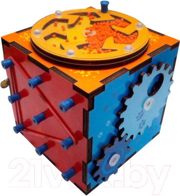 Развивающая игрушка Мастер игрушек Бизи-кубик / IG0290