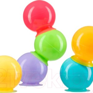 Набор игрушек для ванной Happy Baby Iqbubbles 32017