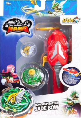 Игрушка детская Infinity Nado Волчок Ориджинал Jade Bow / 37701