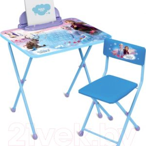 Комплект мебели с детским столом Ника KF1 Disney. Холодное сердце 2