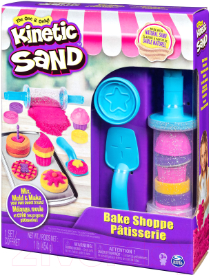 Кинетический песок Spin Master Kinetic Sand. Пекарня / 6045940