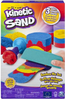 Кинетический песок Spin Master Kinetic Sand. Радуга / 6053691