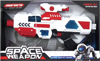 Бластер игрушечный Aurora Toys Пистолет / KT8885-2