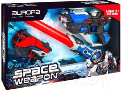 Набор игрушечного оружия Aurora Toys Космическое оружие / KT8889-F3