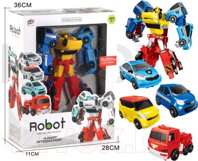 Робот-трансформер Ziyu Toys L015-54