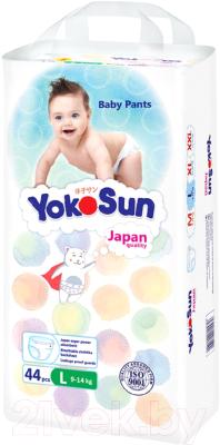 Подгузники-трусики детские YokoSun L от 9 до 14кг