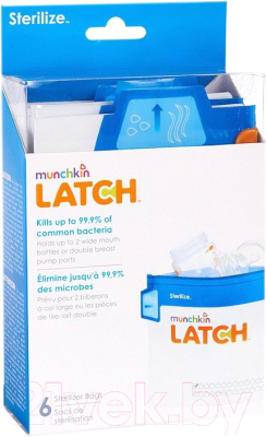 Пакет для стерилизации в СВЧ-печи Munchkin Latch / 11741