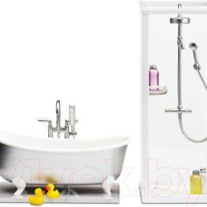 Комплект аксессуаров для кукольного домика Lundby Ванная и душевая / LB-60208900