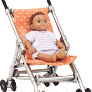Коляска для куклы Lundby Коляска с пупсом / LB-60500100