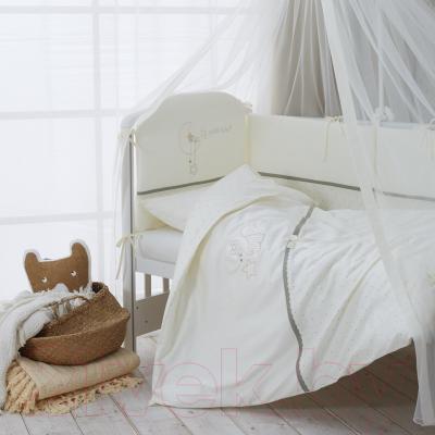 Комплект постельный в кроватку Perina Le Petit Bebe / ПБ3-01.1