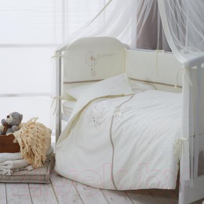 Комплект постельный в кроватку Perina Le Petit Bebe / ПБ3-01.5