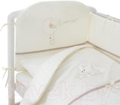 Комплект постельный в кроватку Perina Le Petit Bebe / ПБ4-01.5