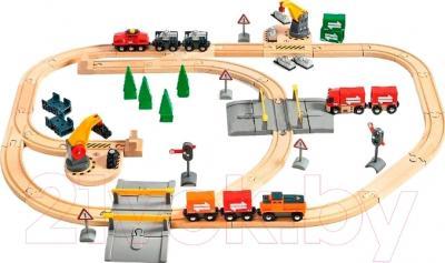 Железная дорога игрушечная Brio Lift & load Railway Set 33165