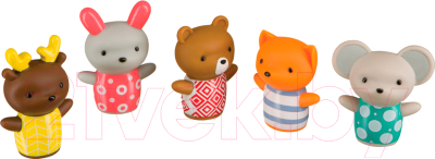 Набор игрушек для ванной Happy Baby Little Friends 32024