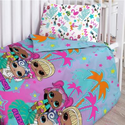 Комплект постельный в кроватку Непоседа LOL Surprise! Куколки подружки / 695159