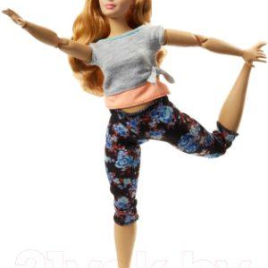 Кукла Barbie Made to move. Йога / FTG80/FTG84