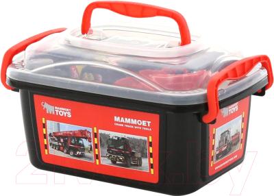 Набор инструментов игрушечный Полесье Mammoet с автомобилем-эвакуатором / 57136