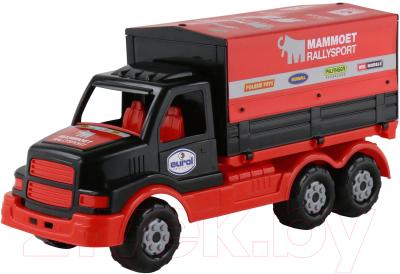 Автомобиль игрушечный Полесье Mammoet грузовик с тентом / 65308