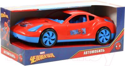 Автомобиль игрушечный Полесье Marvel. Мстители - Человек-Паук / 71224