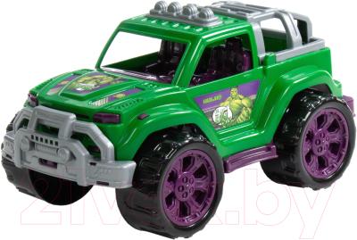 Автомобиль игрушечный Полесье Marvel Мстители. Халк / 77141