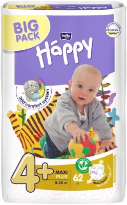 Подгузники детские Bella Baby Happy Maxi Plus 9-20кг