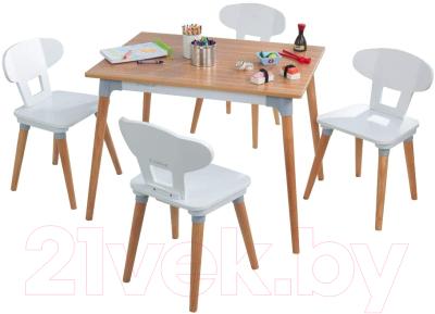 Комплект мебели с детским столом KidKraft Mid Century / 26196-KE