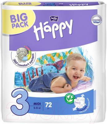 Подгузники детские Bella Baby Happy Midi 5-9кг