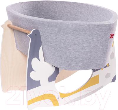 Детская кровать-трансформер Happy Baby Milly с качалкой / 95009