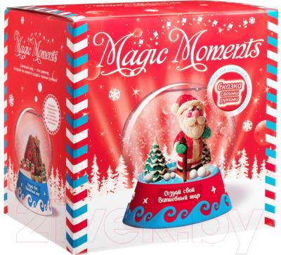 Набор для творчества Magic Moments Волшебный шар. Дед Мороз / mm-9