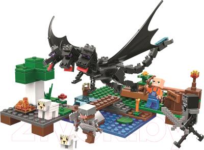 Конструктор Lari Mycrafts Атака Черного Дракона на овечью ферму / 11265