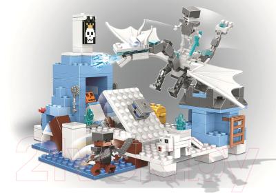Конструктор Lari Mycrafts Атака ледяного дракона / 11266