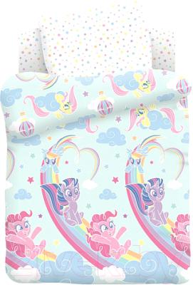 Комплект постельный в кроватку Непоседа My Little Pony. Радужные пони / 684744