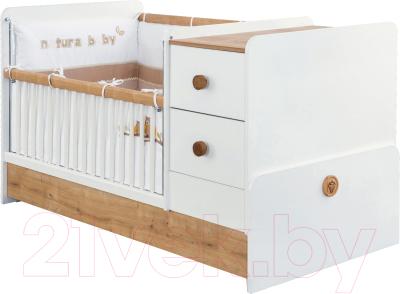 Детская кровать-трансформер Cilek Natura Baby / ST 20.31.1016.00