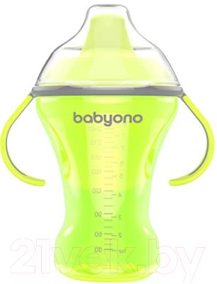 Поильник BabyOno Natural Nursing c твердым носиком 6м+ / 1457
