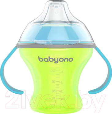 Поильник BabyOno Natural Nursing c мягким носиком 6м+ / 1456