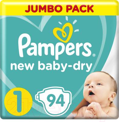 Подгузники детские Pampers New Baby-Dry 1 Newborn
