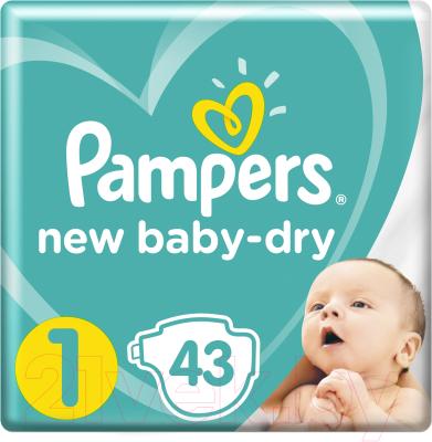 Подгузники детские Pampers New Baby-Dry Newborn