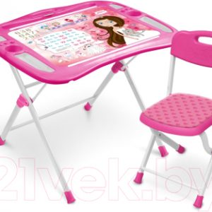 Комплект мебели с детским столом Ника NKP1/3 Маленькая принцесса