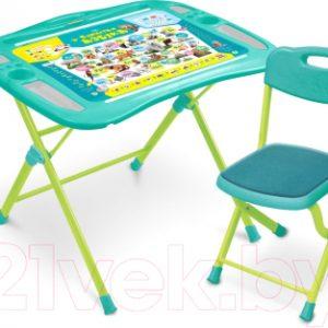 Комплект мебели с детским столом Ника NKP1/4 Пушистая азбука
